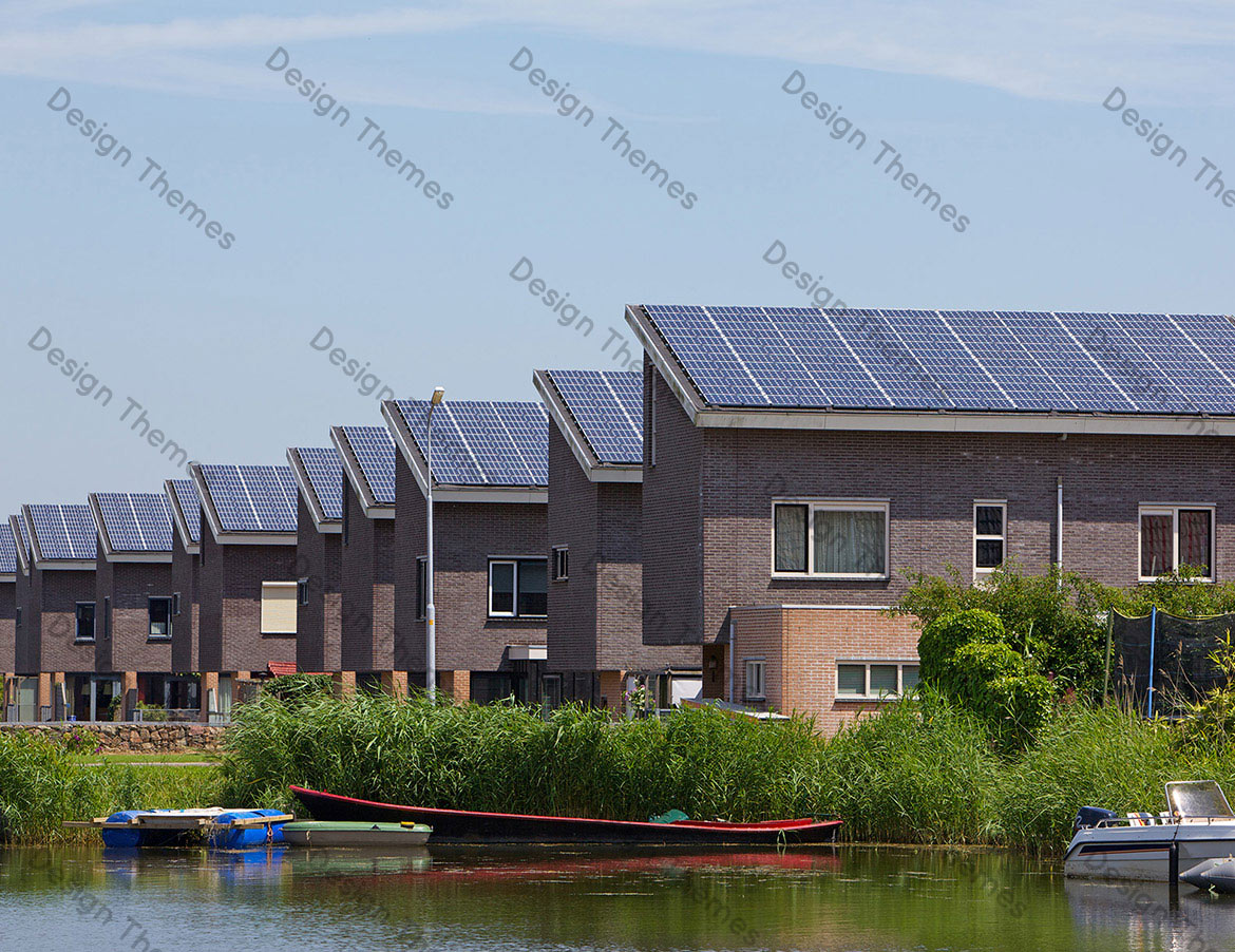 SOLAR PANEL IN ROW HOUSES